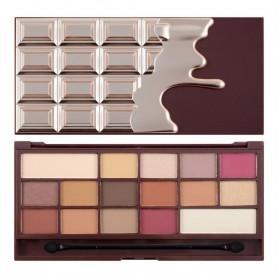 I Heart Makeup Palette Zestaw cieni do powiek Chocolate Elixir  22g (16 kolorów)