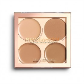 Makeup Revolution Paleta korektorów Matte Base Concealer Kit C9-12