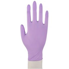 Abena nitrylowe rękawiczki diagnostyczne fioletowe XS