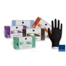 Abena nitrylowe rękawiczki diagnostyczne czarne XS
