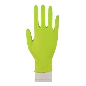 Abena nitrylowe rękawiczki diagnostyczne zielone XS