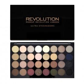 Makeup Revolution Ultra Palette 32 Zestaw cieni do powiek Flawless  16g (32 kolory)