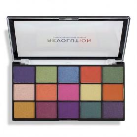 Makeup Revolution Re-Loaded Paleta cieni do powiek Passion for Colour 1szt
