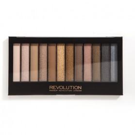 Makeup Revolution Redemption Palette 12 Zestaw cieni do powiek Iconic 1   14g (12 kolorów)