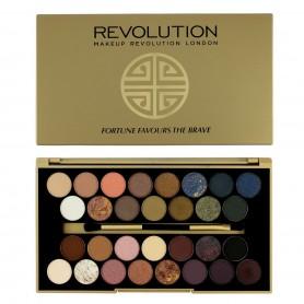 Makeup Revolution BBB Palette 30 Zestaw cieni do powiek Fortune Favours The Brave (30 kolorów)  1szt