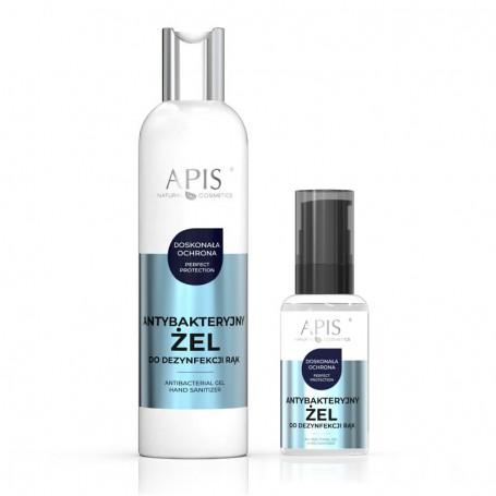 APIS Antybakteryjny żel do dezynfekcji rąk 300 ml + 50ml GRATIS