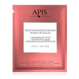 APIS Przeciwzmarszczkowa maska w płacie 20g